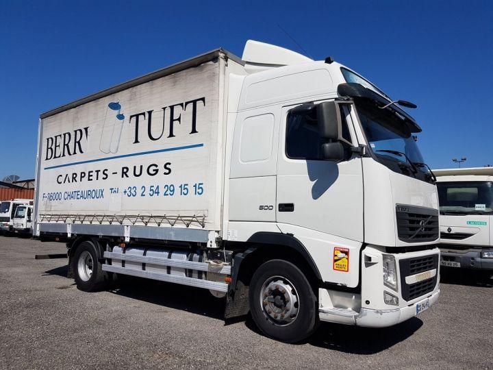 Camion porteur Volvo FH13 Rideaux coulissants 500 + SAMRO 3 essieux (2002) - COMBI 110m3 BLANC Occasion - 3