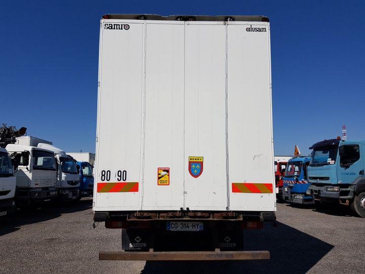 Camion porteur Volvo FH13 Rideaux coulissants 500 + SAMRO 3 essieux (2002) - COMBI 110m3 BLANC Occasion - 6