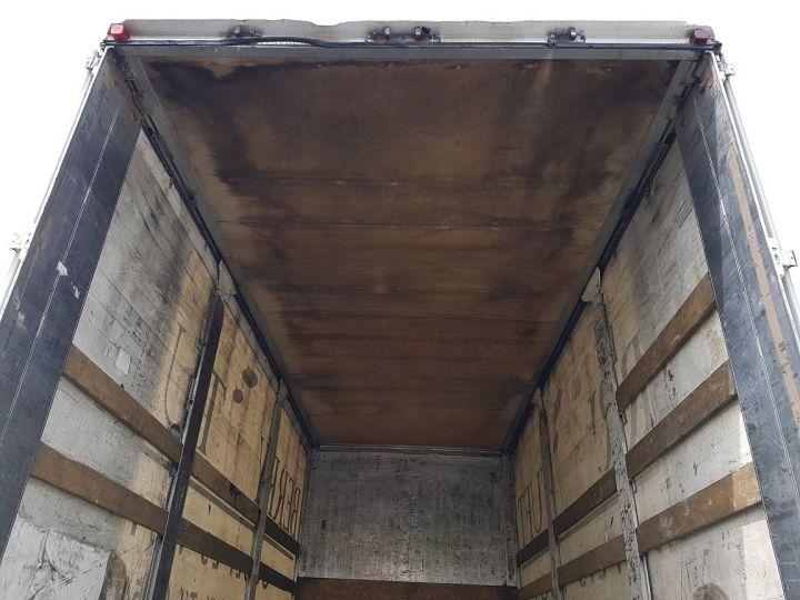 Camion porteur Volvo FH13 Rideaux coulissants 500 + SAMRO 3 essieux (2002) - COMBI 110m3 BLANC Occasion - 9