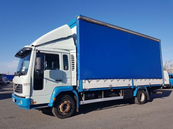 Camion porteur Volvo FL Rideaux coulissants 180.11 BLEU - VERT Occasion - 1
