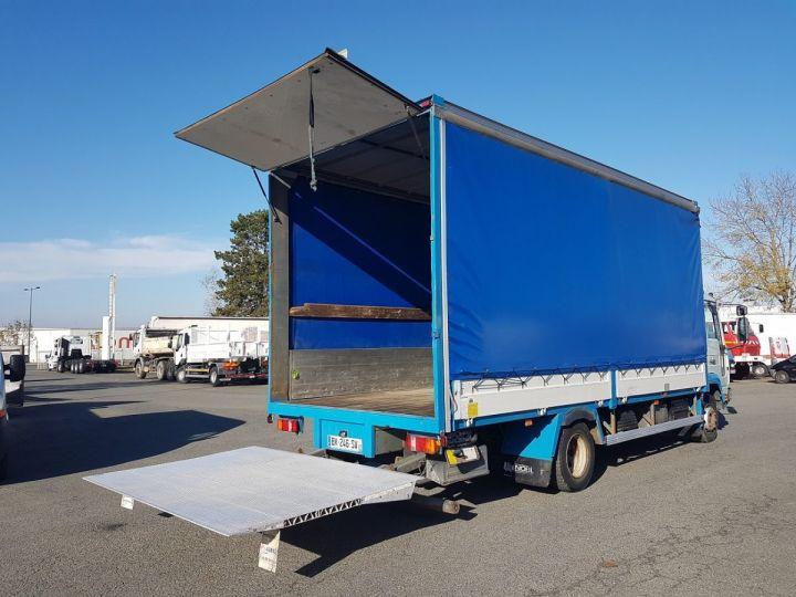Camion porteur Volvo FL Rideaux coulissants 180.11 BLEU - VERT Occasion - 3