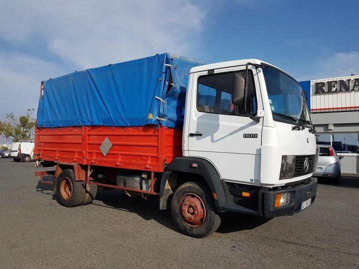 Camion porteur Mercedes LK Savoyarde 809 R BLANC - ROUGE - BLEU - 2