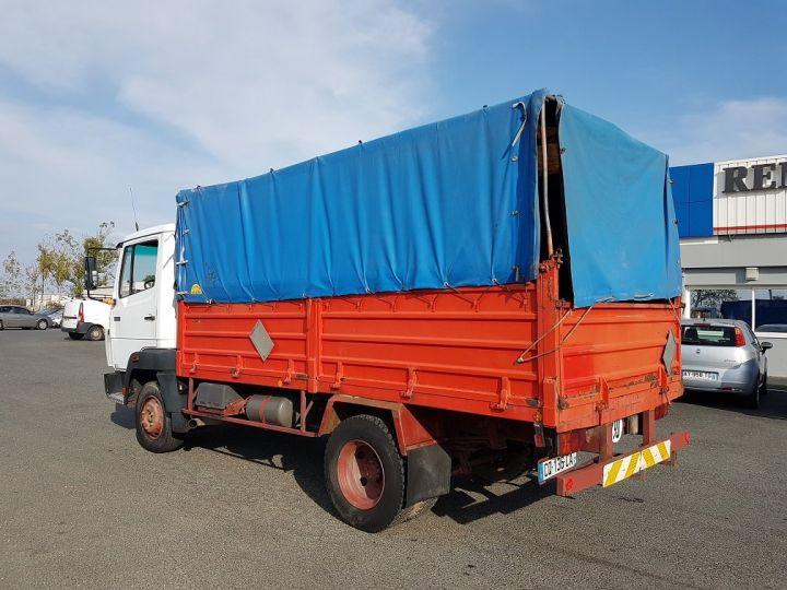 Camion porteur Mercedes LK Savoyarde 809 R BLANC - ROUGE - BLEU - 3