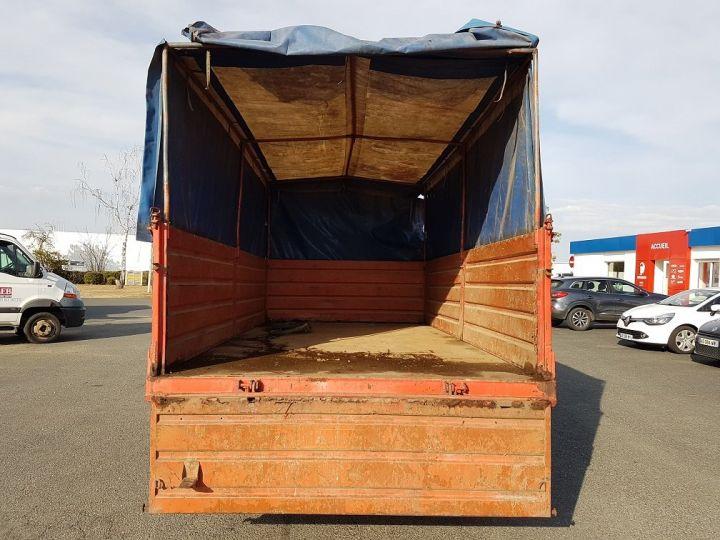 Camion porteur Mercedes LK Savoyarde 809 R BLANC - ROUGE - BLEU - 5