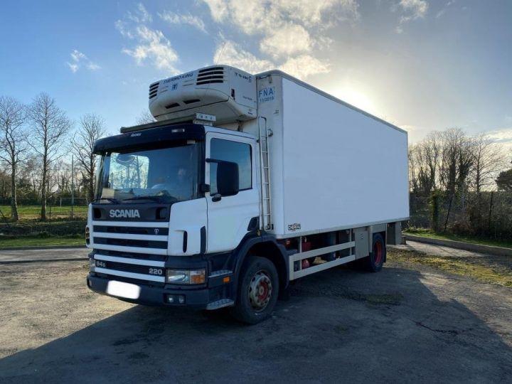 Camion porteur Scania G 94 G 220 FRIGORIFIQUE PENDERIE A VIANDE MANI-VIANDE BLANC - 1
