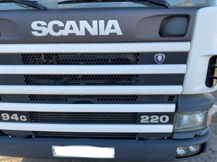Camion porteur Scania G 94 G 220 FRIGORIFIQUE PENDERIE A VIANDE MANI-VIANDE BLANC - 13