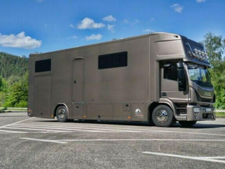 Camion porteur Volvo EUROCARGO 160E  Brun Peinture métallisée - 2