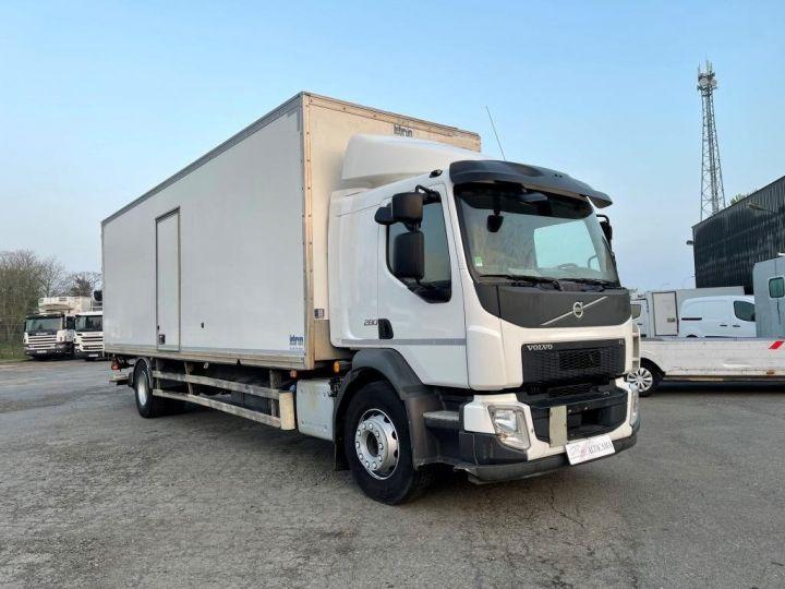 Camion porteur Volvo FL 280 FOURGON HAYON ELEVATEUR BLANC - 2