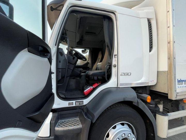 Camion porteur Volvo FL 280 FOURGON HAYON ELEVATEUR BLANC - 8