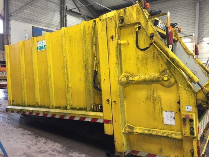 Camión Spitzer Recolector compactador CAISSON BENNE A ORDURES MENAGERES SEMAT JAUNE - 7