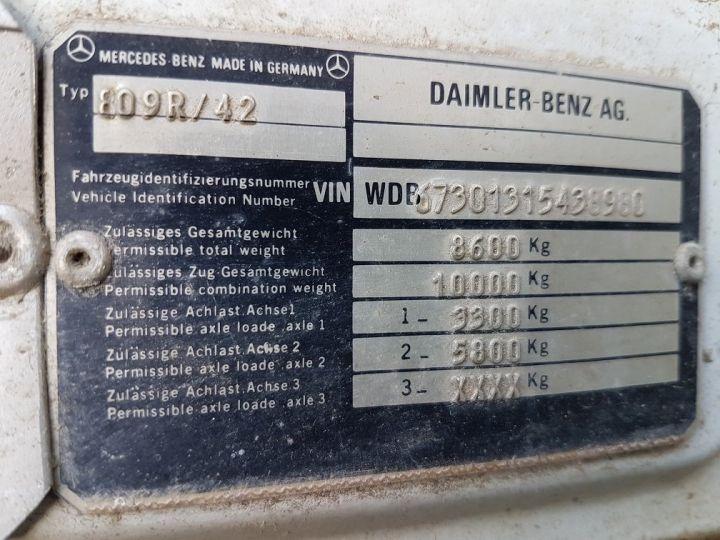 Camión Mercedes LK Semitauliner 809 R BLANC - ROUGE - BLEU - 13