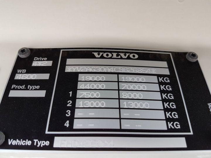 Camión Volvo FH13 Tauliner 500 + SAMRO 3 essieux (2002) - COMBI 110m3 BLANC - 14