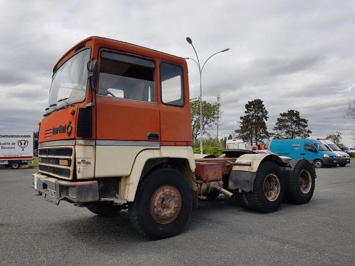 Camion tracteur Berliet TR H 350 6x4 ROUGE - BEIGE Occasion - 1