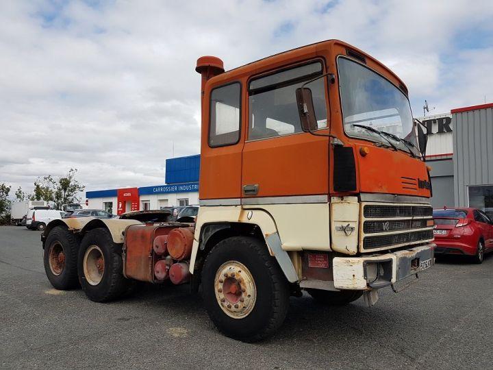 Camion tracteur Berliet TR H 350 6x4 ROUGE - BEIGE Occasion - 3