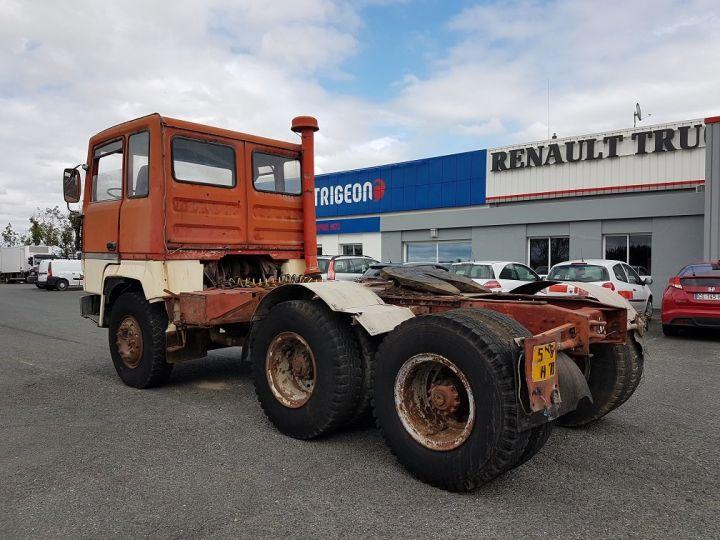 Camion tracteur Berliet TR H 350 6x4 ROUGE - BEIGE Occasion - 4