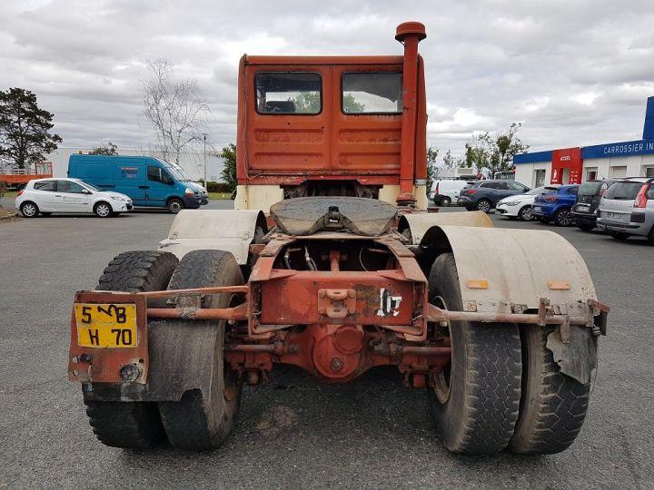 Camion tracteur Berliet TR H 350 6x4 ROUGE - BEIGE Occasion - 5