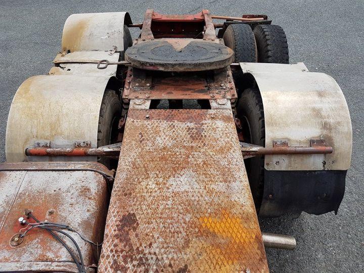 Camion tracteur Berliet TR H 350 6x4 ROUGE - BEIGE Occasion - 6