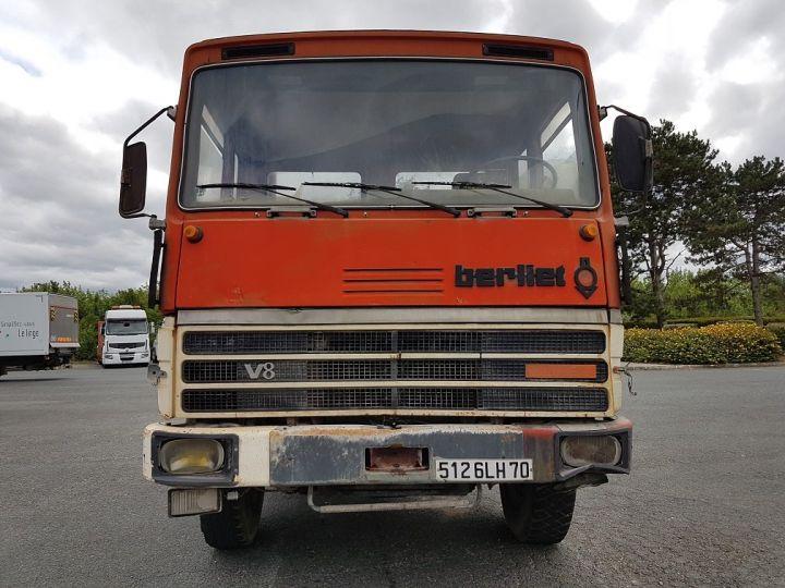 Camion tracteur Berliet TR H 350 6x4 ROUGE - BEIGE Occasion - 8
