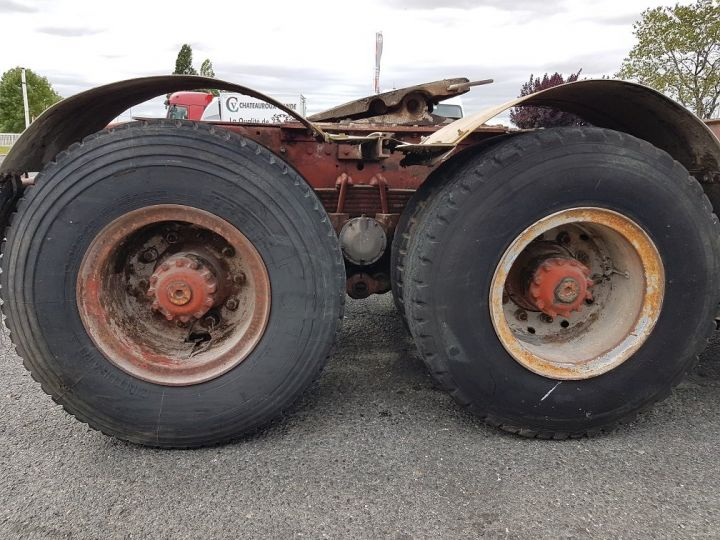 Camion tracteur Berliet TR H 350 6x4 ROUGE - BEIGE Occasion - 9