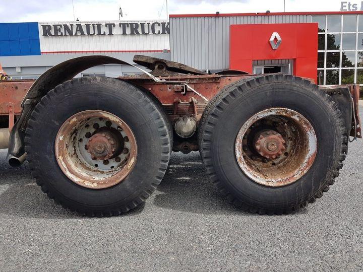 Camion tracteur Berliet TR H 350 6x4 ROUGE - BEIGE Occasion - 10
