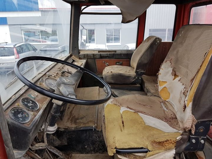 Camion tracteur Berliet TR H 350 6x4 ROUGE - BEIGE Occasion - 16