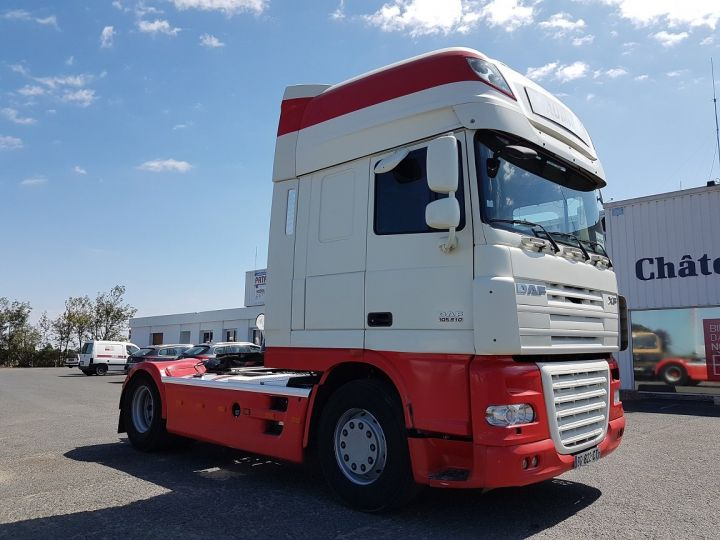 Camion tracteur Daf XF 105.510 SSC - MANUAL + INTARDER BLANC et ROUGE Occasion - 3