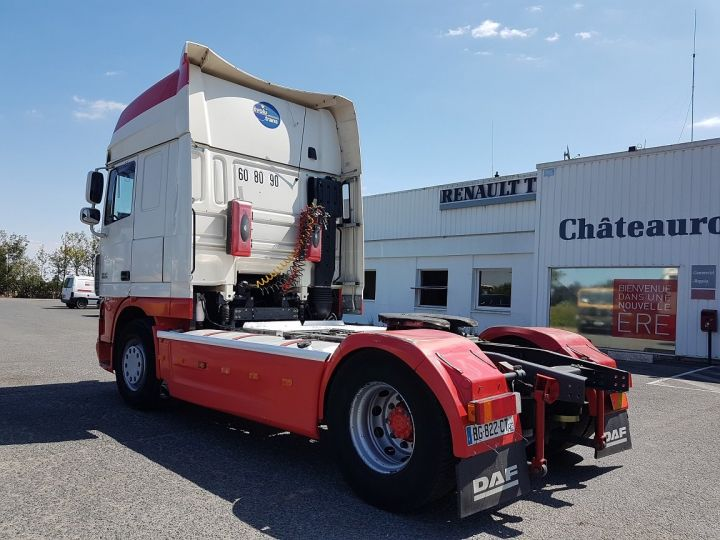 Camion tracteur Daf XF 105.510 SSC - MANUAL + INTARDER BLANC et ROUGE Occasion - 4