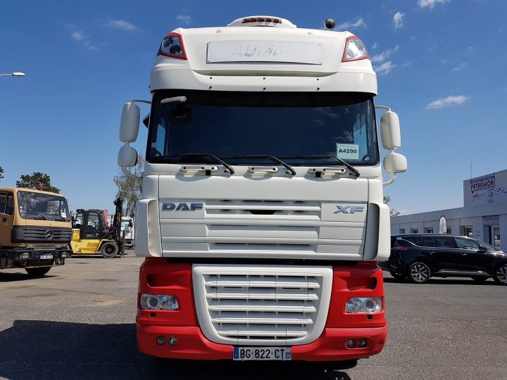 Camion tracteur Daf XF 105.510 SSC - MANUAL + INTARDER BLANC et ROUGE Occasion - 5
