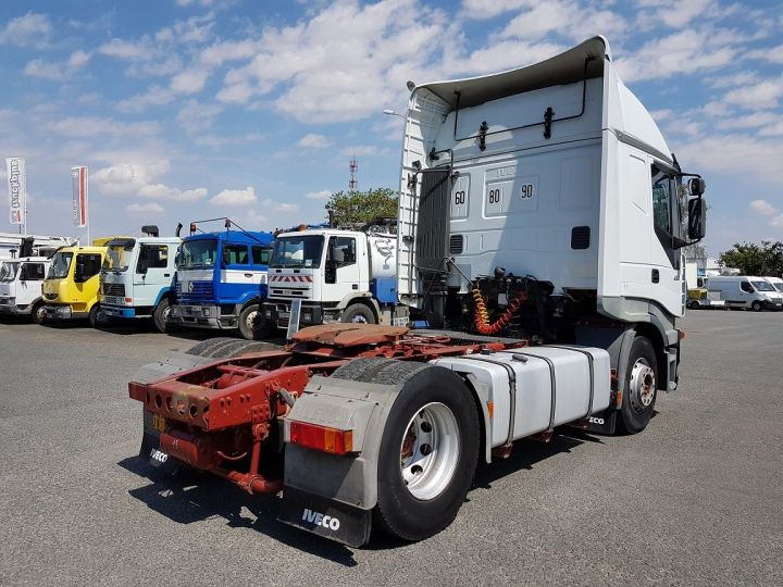 Camion tracteur Iveco Stralis AS 430 - ZF16 MANUAL + INTARDER BLANC Occasion - 2