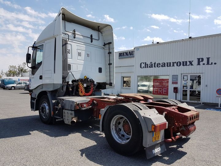 Camion tracteur Iveco Stralis AS 430 - ZF16 MANUAL + INTARDER BLANC Occasion - 4