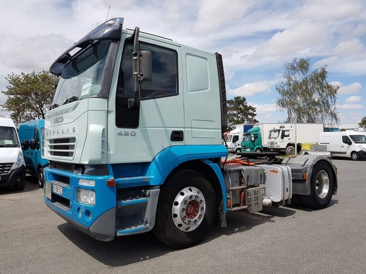 Camion tracteur Iveco Stralis AT 430 BLEU - VERT Occasion - 1