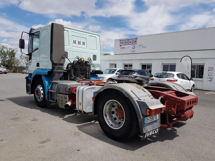 Camion tracteur Iveco Stralis AT 430 BLEU - VERT Occasion - 4