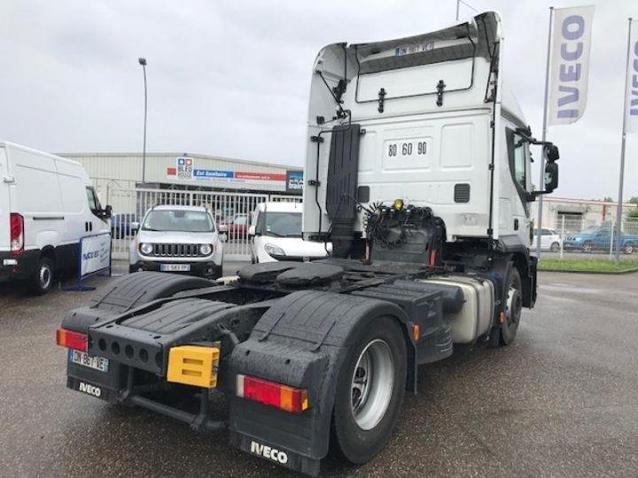 Camion tracteur Iveco Stralis Hi-Road AT440S46 TP E6 - offre de location 825 Euro HT x 36 mois* Blanc - 4
