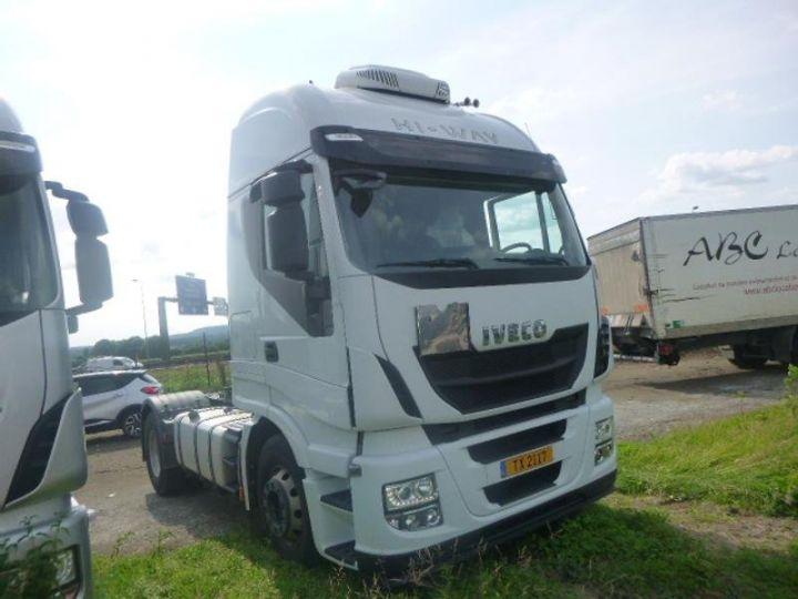 Camion tracteur Iveco Stralis Hi-Way AS440S46 TP E6 Blanc - 1