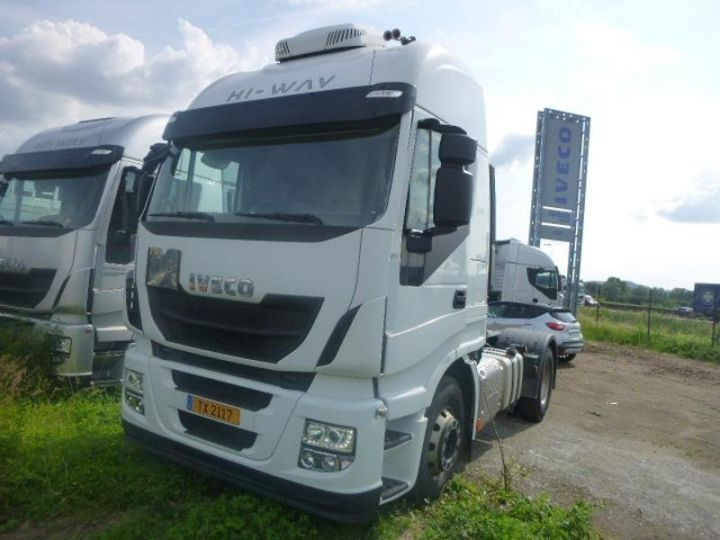 Camion tracteur Iveco Stralis Hi-Way AS440S46 TP E6 Blanc - 2