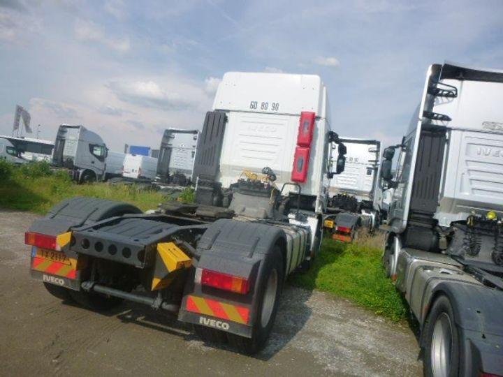 Camion tracteur Iveco Stralis Hi-Way AS440S46 TP E6 Blanc - 3