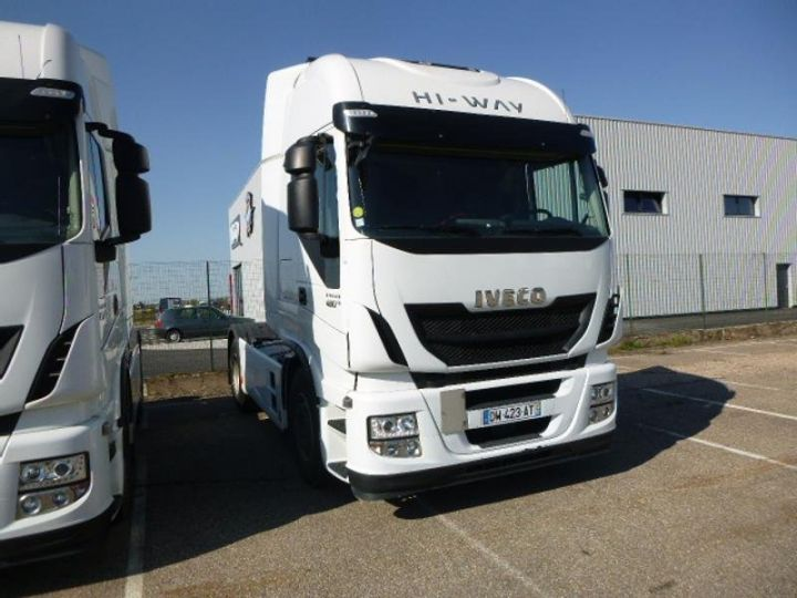Camion tracteur Iveco Stralis Hi-Way AS440S48 TP E6 Blanc - 2