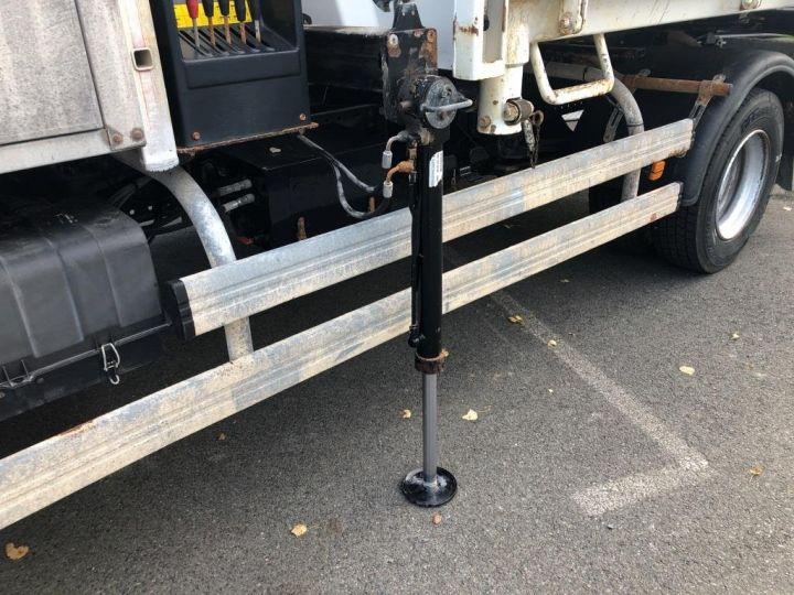 Camion tracteur Man TGL 10.220 BI BENNE GRUE BLANC - 13