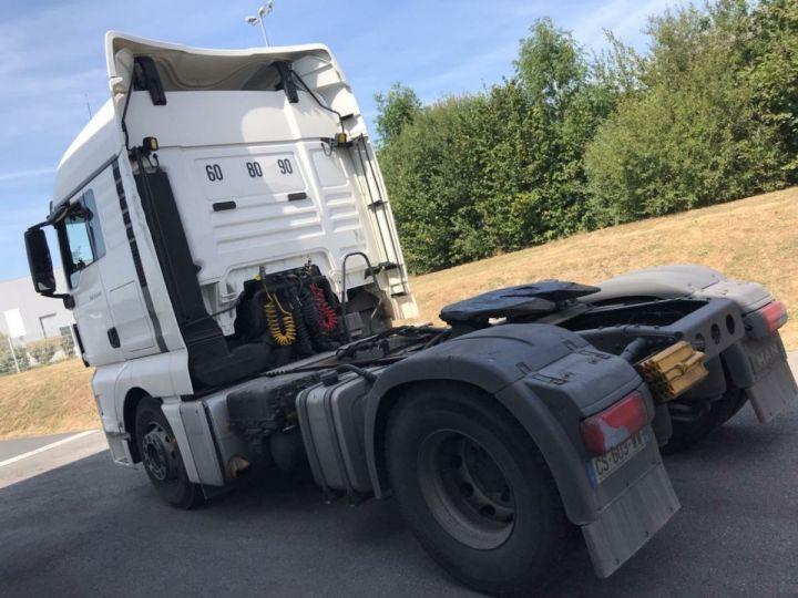Camion tracteur Man TGX 18-480 Blanc - 2