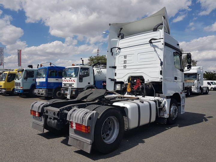 Camion tracteur Mercedes Axor 1840 LS BLUETECH 4 BLANC Occasion - 2