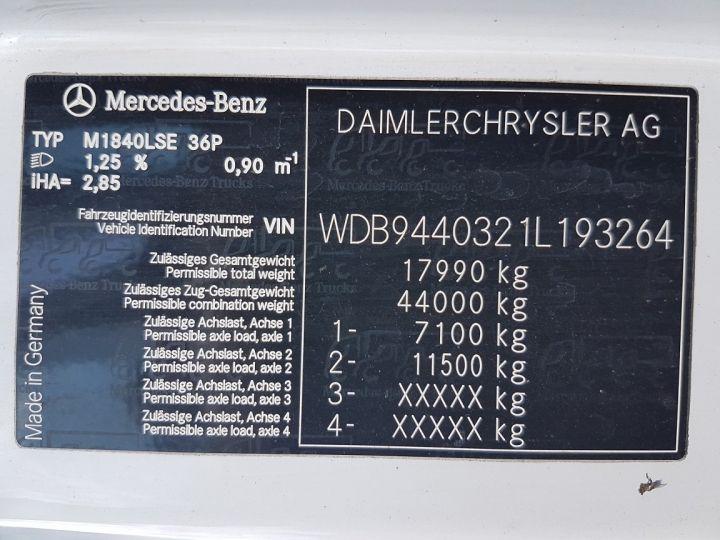 Camion tracteur Mercedes Axor 1840 LS BLUETECH 4 BLANC Occasion - 11