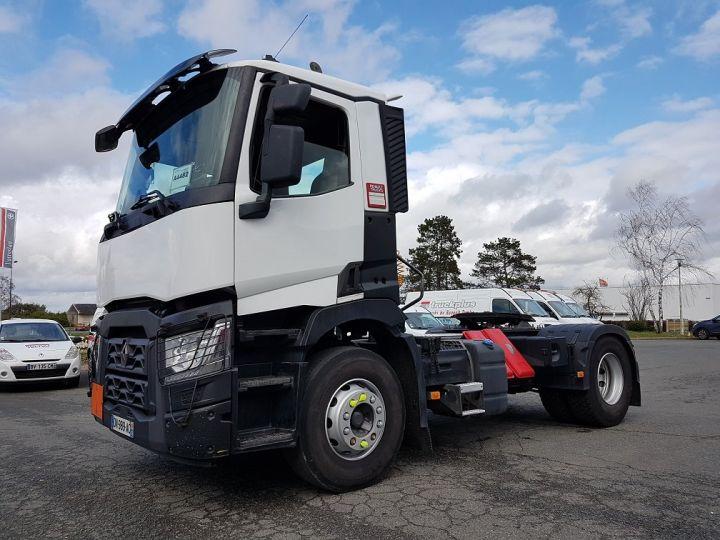 Camion tracteur Renault C 430 A.D.R. BLANC Occasion - 1