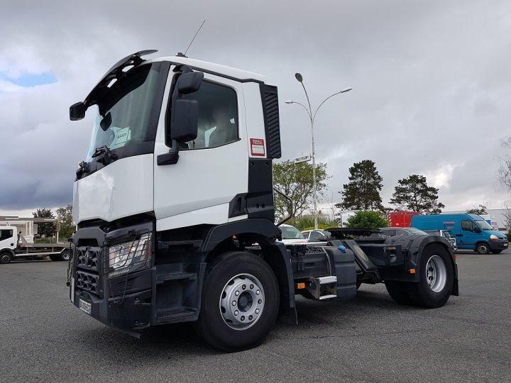 Camion tracteur Renault C 430 A.D.R. BLANC - 1