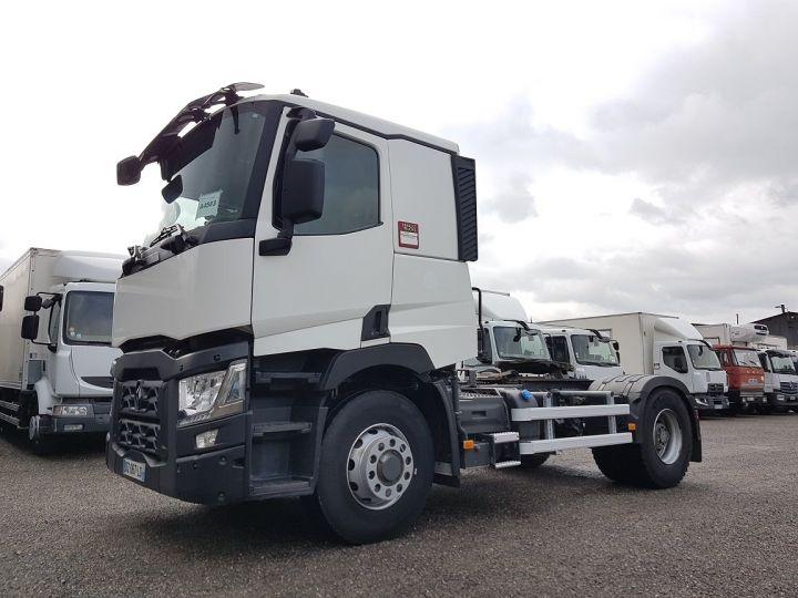 Camion tracteur Renault C 430 OPTITRACK (4x2/4) - RETARDER BLANC - 1