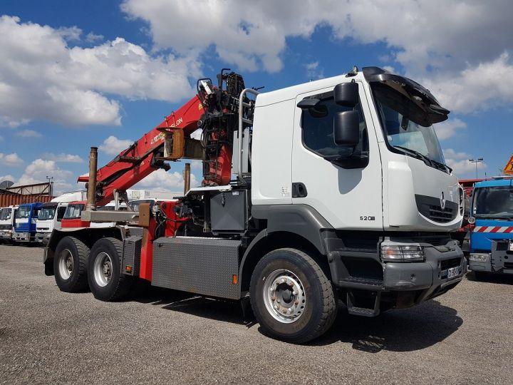 Camion tracteur Renault Kerax 520dxi.35 6x4 HEAVY - GRUMIER BLANC - GRIS - ROUGE - 5