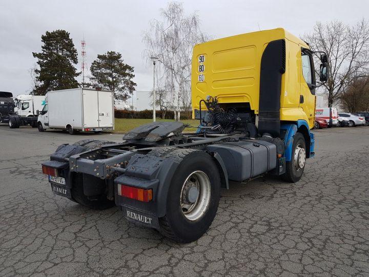 Camion tracteur Renault Premium Lander 420dci JAUNE et BLEU Occasion - 2