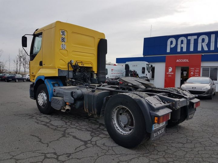 Camion tracteur Renault Premium Lander 420dci JAUNE et BLEU Occasion - 4