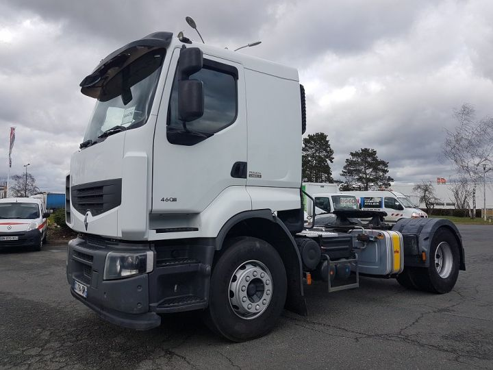 Camion tracteur Renault Premium Lander 460dxi RETARDER BLANC Occasion - 1
