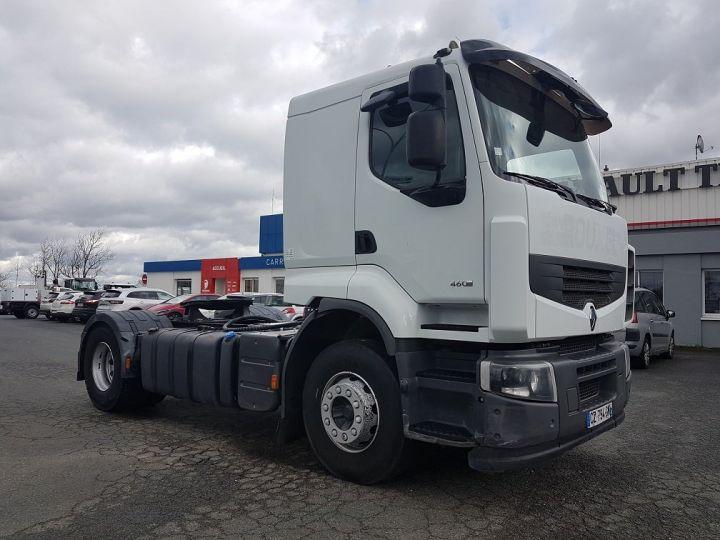 Camion tracteur Renault Premium Lander 460dxi RETARDER BLANC Occasion - 3