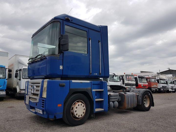 Camion tracteur Renault Magnum 440dxi BLEU GEFCO Occasion - 1